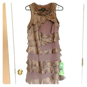 Special occasion dress GOLD SIZE 12
